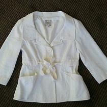Nanette Lepore Off-White Ivory Jacket Photo