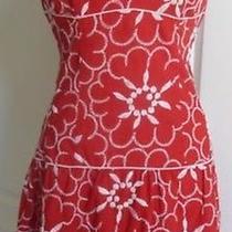 Nanette Lepore Red Dress Size 2 Photo