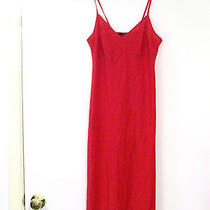 Nanette Lepore Red Nightie/slip   Size 4   Thin Straps Photo