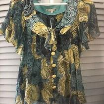 Nanette Lepore Silk Blouse. Photo
