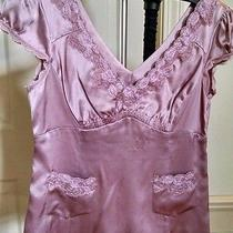 Nanette Lepore Silk Blouse Shirt Top Size 2 Like New Photo