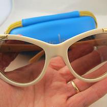 Nanette Lepore Sunglasses Vintage 2012 Limited Edition Emma Roberts Vogue Photo