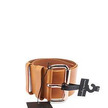 Nanette Lepore Wide Dakota Tan Leather Belt Photo