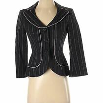 Nanette Lepore Women Black Blazer 2 Photo