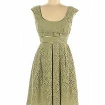 Nanette Lepore Women Green Casual Dress 8 Photo