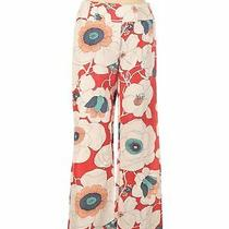 Nanette Lepore Women Ivory Casual Pants 2 Photo