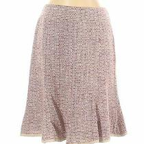 Nanette Lepore Women Pink Casual Skirt 2 Photo