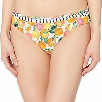 Nanette Lepore Women's Swimsuit White Size 12 Lepore Hipster Bikini 45 026 Photo