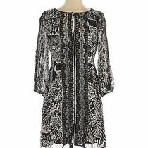 Nanette Nanette Lepore Women Black Casual Dress 2 Photo