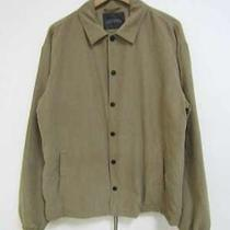 Nano Universe Coach Jacket Beige Men's Blouson Q1876 Photo