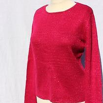 Narciso Rodriguez Embellished Sequins Bright Raspberries Color Xl Nwt Photo