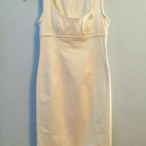 Narciso Rodriguez Size 4 White Dress. Sexy. Photo