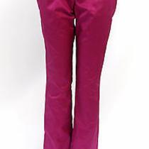 Narciso Rodriguez Womens Trendy Designer Pants Fuschia Size 42 Photo