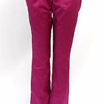 Narciso Rodriguez Womens Trendy Designer Pants Fuschia Size 42 Photo