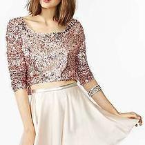 Nastygal 100% Pure Silk High Waisted  Skirt in Blush Very Rare Photo