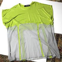 Natalie Encarnita Neon Tunic See Through Topshop M Photo