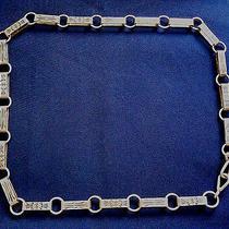 Native American Al Sterling Silver Stamped Lady's Vintage Linked Belt Photo