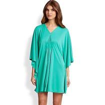 Natori Ceramic Green Aphrodite Caftan Gown/ Sleep Shirt Size Xl Retail 130 Photo