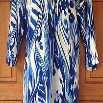 Natori L Swimsuit Blue Multi Color Cover Up Check My Other Listings Photo
