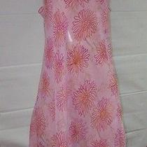 Natori Private Luxuries Pink  Floral Nightie Medium New  Photo