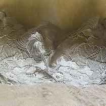 Natori Silver Luxe Zen Lace Lace Underwire Cami Bra 36d  Photo