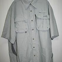 Natural Gear Dry Vent River Shirt Dusk Men's Size Large Photo