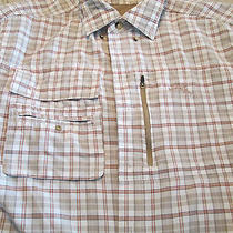 Natural Gear Mens Medium Vented Lot of Two Outdoors Shirt Photo
