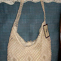 Natural Macrame Hobo Purse by Dolce Vita  Nwt Photo