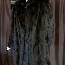 Natural Mahogany Brown Mink Fur Sections 33