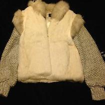 Natural Rabbit Fur Coat Photo