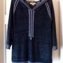 Natural Reflections Tunic Sweater With Hood Size Large Photo