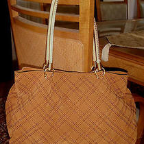 Naturalizer Cognac Brown Suede Leather Tote - Nwot Photo