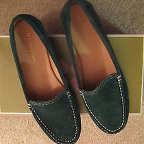 Naturalizer Green Suede Loafers - 9m - New in Box Photo