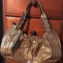 Naturalizer Metallic Gold Bag Photo