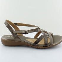 Naturalizer New Cooper Metallic Womens Shoes Size 11 M Sandals Msrp 69 Photo