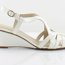 Naturalizer New Happening Ivory Womens Shoes Size 8.5 M Sandals Msrp 75 Photo