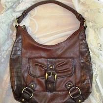 Naturalizer Shoulder Bag Hobo Purse Brown Photo