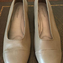 Naturalizer Taupe Gray Ballet Flats - Size 9 M Photo