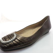 Naturalizer Violette Womens Flats Slip-on Bronze Shoes Size 7.5 M Photo
