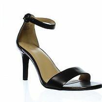 Naturalizer Womens Kinsley Black Ankle Strap Heels Size 10 (1287679) Photo
