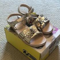 Naturino Express Charo 342908 Sandal Little Girl's Size 12 Gold Photo