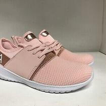 Nautica Kappil Girls Athletic Sneakers Rose Gold Youth Size 4 Photo