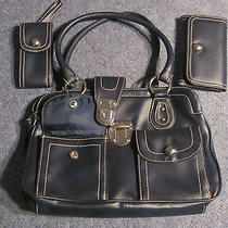 Navy Blue Avon Handbag Photo