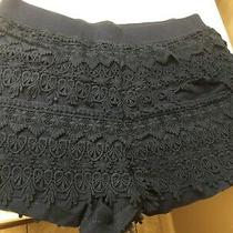 Navy Blue Express Knit Shorts Size S Photo