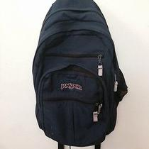 Navy Blue Jansport Backpack Photo