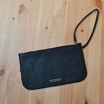 Navy Blue Leather Clutch - Positive Elements Photo