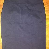 Navy Blue Xoxo Juniors Pencil Skirt Macys Size 7/8 Photo