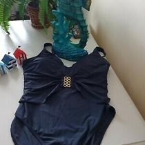 Navy Swimming Costume 14/16 Photo