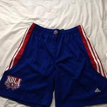 Nba All Star Game Authentic Shorts  2008 Adidas 38 New James Wade Rose Pro Cut Photo