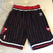 Nba Chicago Bulls Pinstripe Game Shorts Medium Photo